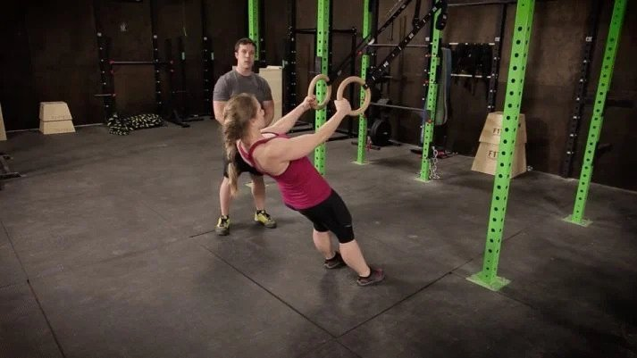 bodyweight inverted row